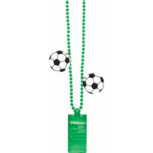 bead chain with whistle soccer