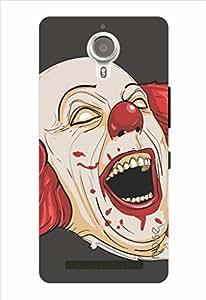 Noise Bloody Joker Black Printed Cover for Lenovo K80