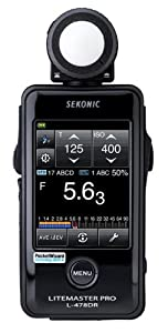 Sekonic Corporation 401-479  LITEMASTER PRO L-478DR Photographic Light Meter  (Black)