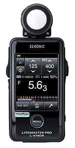 Sekonic Corporation 401-479 LITEMASTER PRO L-478DR Photographic Light Meter W/Case (Black)