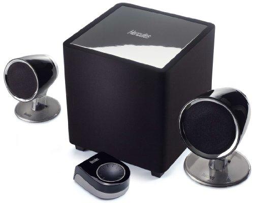Hercules XPS 101 2.1 Multimedia Speaker System - 101 Watts RMS (202 Watts Peak Power) 5061555