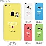 【イングランド】【サッカー】【iPhone5c】【iPhone5cケース】【iPhone5cカバー】【docomo】【au】【Soft Bank】【スマホケース】【クリアケース】【FUTBOL NINO】 10-ip5c-fca-eg01