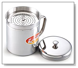 Cook N Home Stainless Oil Storage Container