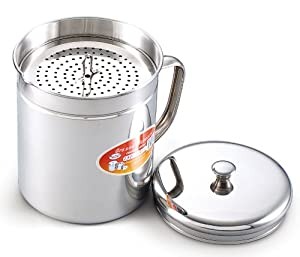 Cook N Home 1-1 2-Quart Stainless Oil Storage by Cook N Home