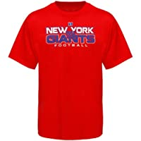 NFL York Giants All Time Great IV T-Shirt - Red from Nutmeg