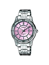 Casio Enticer Analog Pink Dial Womens Watch - LTP-1358D-4AVDF (A805)