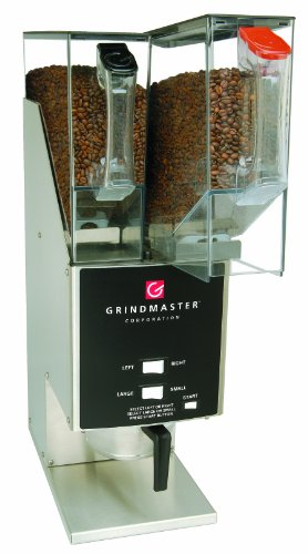 Grindmaster-Cecilware 250 Single Portion Coffee Grinder with 2 Hoppers, 5.5-Pound