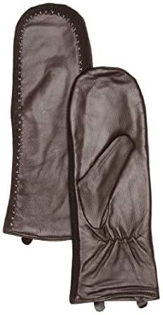 Emu Australia Licola Mittens Women's Gloves Charcoal Medium/Large