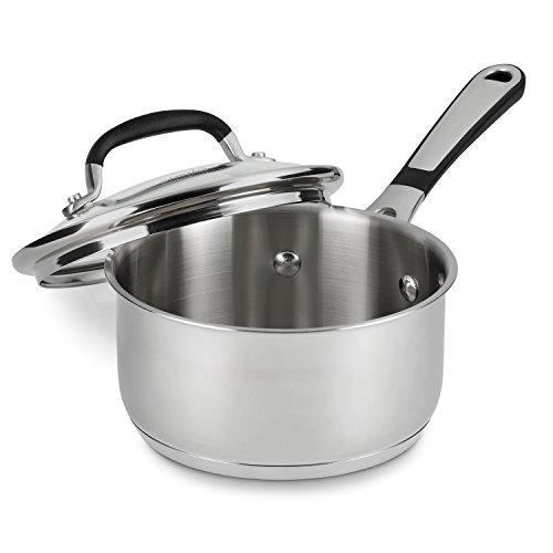 Simply Calphalon Stainless 1 Quart Saucepan