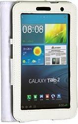 iAccy SGTF006 Hard Portfolio Case for Samsung Tab P 3100 (White)