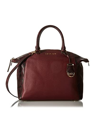 Michael Kors Henkeltasche Riley bordeaux