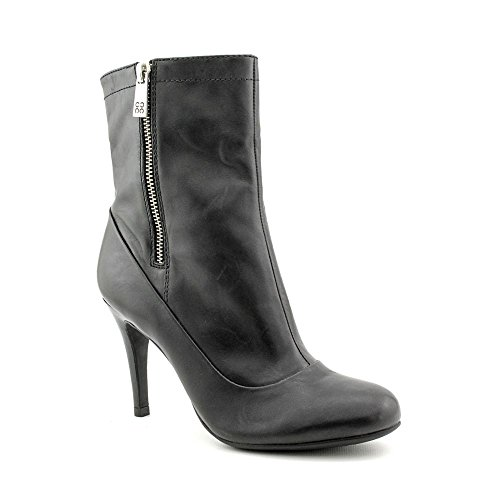 Coach Womens Bethie Black Leather 4 Heels Ankle Boots Size 7 M
