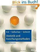 Statistik und Forschungsmethoden: Lehrbuch. Mit Online-Materialien