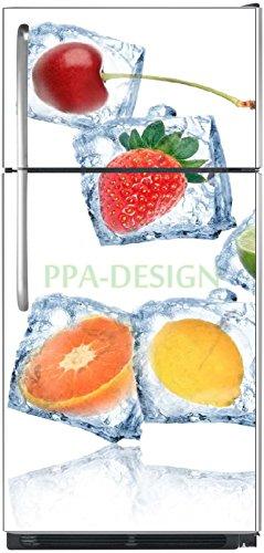 Sticker-autocollant-frigo-Fruits-Glaons-70x170cm-SAEFR1012-Fond-Blanc