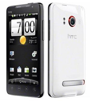 Sprint HTC Evo 4g Smart Phone (White)