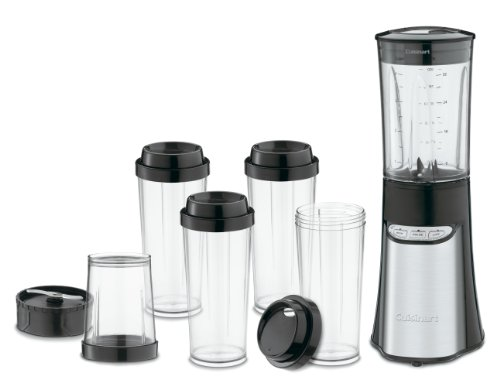 Cuisinart CPB-300 SmartPower 15-Piece Compact Portable Blending/Chopping System, Black