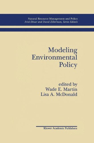 Modeling Environmental Policy (Natural Resource Management and Policy)