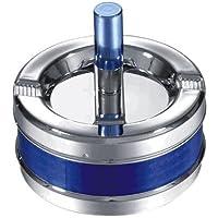 Visol VASH102 Taz Blue And Silver Ashtray