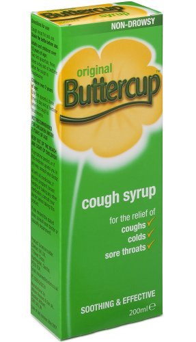 Buttercup Cough Mixture Syrup Original 200 ml