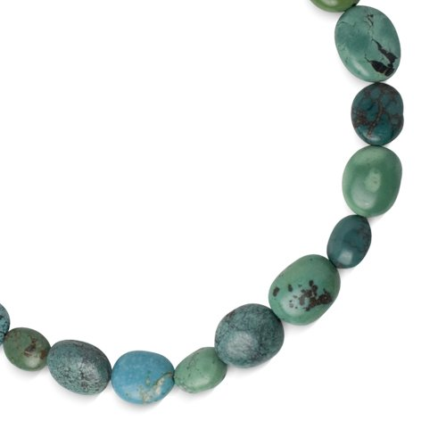 Southwest Spirit Sterling Silver Turquoise Heaven on Earth Strand Necklace