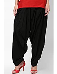 Castle Women's Patiala (Black_Free Size)