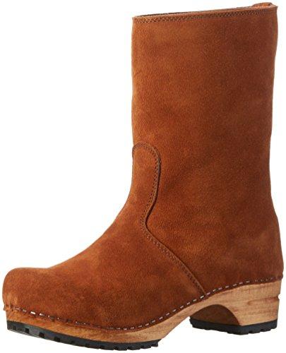 SanitaCharlotta Boot - Stivali a metà polpaccio con imbottitura leggera Donna , Marrone (Braun (Cognac/Braun 15)), 37