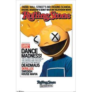 Rolling Stone - Deadmau5 Poster (55,88 x 86,36 cm)