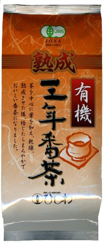 ひしわ 有機熟成三年番茶 80g