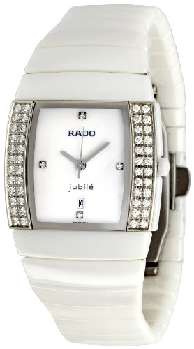 Rado Men's R13632702 Sinatra Super Jubile White Dial Watch