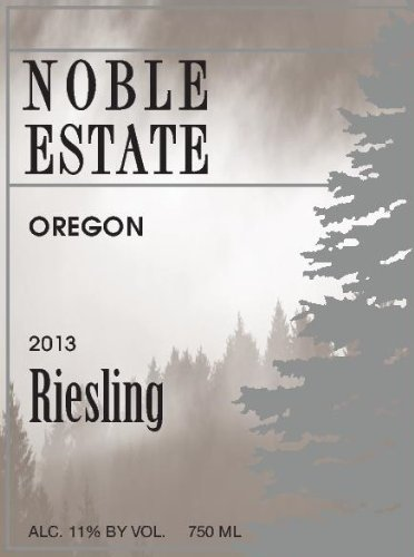 2013 Noble Estate Riesling 750 Ml