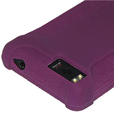 Amzer Silicone Skin Jelly Case for Motorola DROID X MB810 - Purple by Amzer