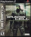 Tom Clancy's Splinter Cell – PlayStation 2 (Jewel case)