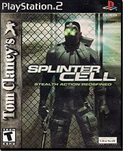 Tom Clancy's Splinter Cell - PlayStation 2 (Jewel case)