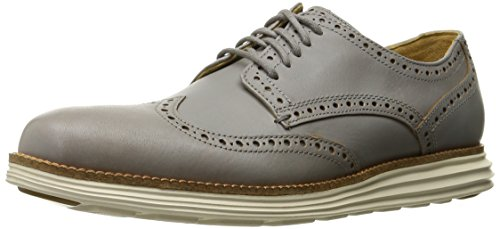 Cole Haan Men's Original Grand Wingtip P102662 Oxford, Ironstone/Ivory, 11 M US (Cole Haan Mens Grey Shoes compare prices)