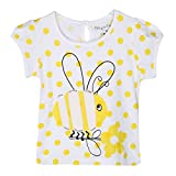 Chirpie Pie by Pantaloons Girl's T-shirt_Size_6-9 Months