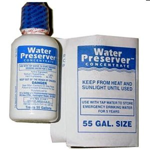 55 Gallon Water Preserver Concentrate 5 Year Emergency Disaster Preparedness, Survival Kits, Emergency Water Storage, Earthquake, Hurricane, Safety