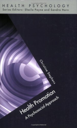 Health Promotion: A Psychosocial Approach (Health Psychology)