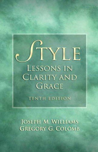 Style: Lessons in Clarity and Grace (10th Edition)