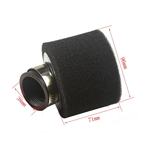 38mm-sponge-foam-air-filter-cleaner-bent-neck-70-90-110-125-scooter-atv-pit-bike