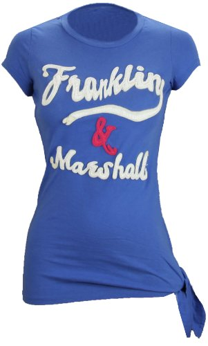 Franklin & Marshall Jersey Round Neck T-Shirt Caravan Blue