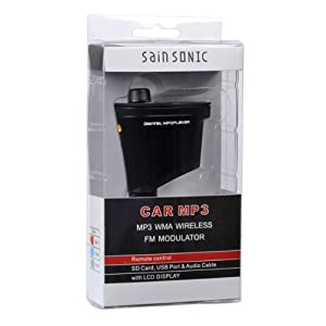 SainSonic Multi-Function Car MP3 Player (Red)