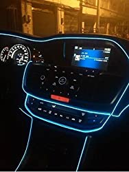 Delhitraderss -Crystal Blue 5 Meter Interior Car Styling light For - Mahindra XUV500 2015