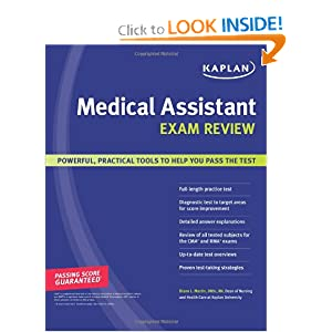 Kaplan Medical Assistant Exam Review: 9781419550942: Medicine & Health ...