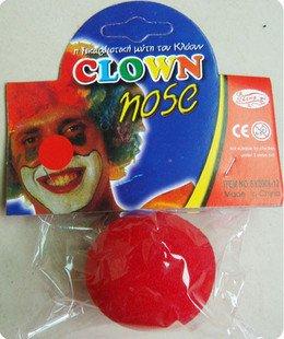 ピエロの鼻 赤鼻 トナカイ マジック 一瞬でピエロに変身 お得3個