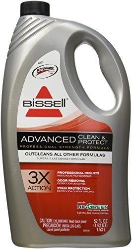 BISSELL BigGreen Commercial 49G5-1 Carpet Cleaner, Advanced Formula, Triple Action Cleaning, 52 oz.