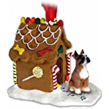 Boxer Gingerbread House Ornament