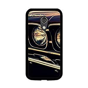Vibhar printed case back cover for Motorola Moto G (2nd Gen) Lights