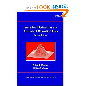 Statistical Methods for the Analysis of Biomedical Data cover