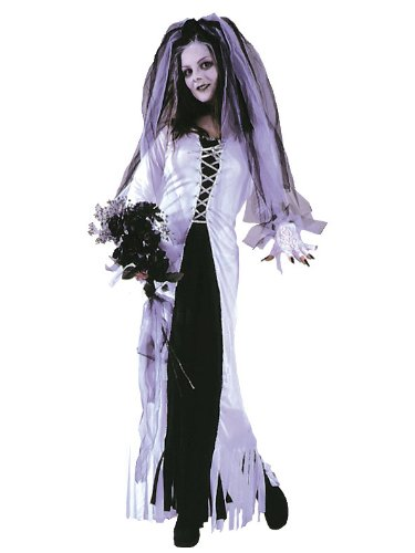 Skeleton Bride Zombie Bride Plus Size Theatre Costumes