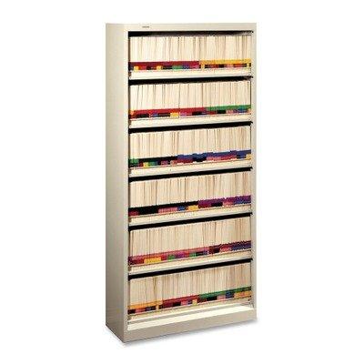 Shelf File, 6 Shelf, Letter, Putty